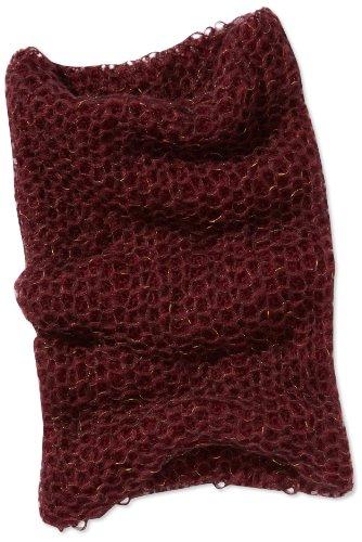 MEXX Damen Schal 3FKWS020, Gr. one size, Rot (606) (Damen-angora-mischung)