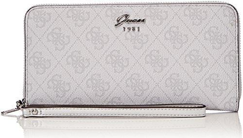 Guess Damen Slg Wallet Geldbörse, Blau (Ice), 2x10x20 centimeters (Guess Portemonnaie)