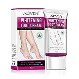 Crema para pies, Crema reparadora blanqueadora, Removedor de callos para el pie Hidrata y rehidrata los pies - El corrector complejo blanqueador aclara los pies pigmentados de manera desigual-50ml