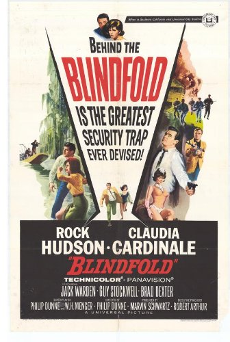 Blindfold Plakat Movie Poster (11 x 17 Inches - 28cm x 44cm) (1966)