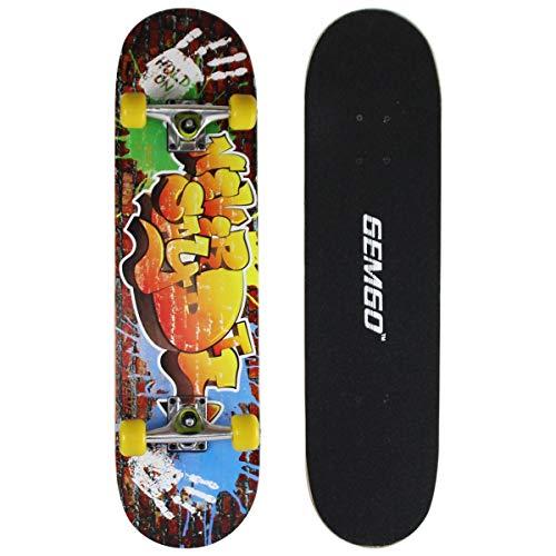 Gemgo 9 capas de arce skateboards