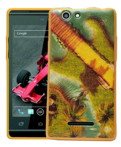 ECellStreet Printed Back Case Cover For Xolo A500s - A Way  available at amazon for Rs.189