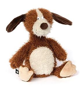Sigikid ACH Goood! Perro de Juguete Poliéster Marrón, Blanco - Juguetes de Peluche (Perro de Juguete, Marrón, Blanco, Poliéster, 1 año(s), Perro, 8 año(s))