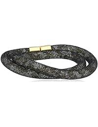 Swarovski Damen-Armband Metalllegierung Glas grau 50949