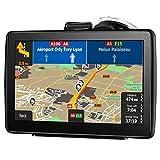 Sistema di navigazione satellitare GPS aonerex-7-inch HD touch screen navigatore, Voice, Built-in 8GB & MB, UE e UK latest 2018Maps Lifetime free aggiornamenti