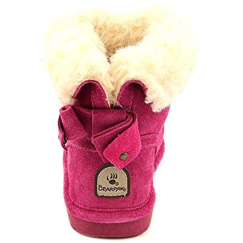 Bearpaw Harper Toddler Daim Botte d'hiver Pomberry