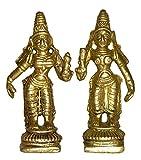Brass Metal Ridhi Siddhi Pair Statue by ...