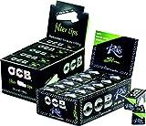 OCB 15441 Bundle - Geschenkset, Premium Rolls Slim, 24 Rollen, Langes Endlos-Papier und Filter Tips - 25 Heftchen a 50 Blatt
