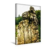 Calvendo Premium Textil-Leinwand 30 cm x 45 cm hoch, Blick zum Observatorium | Wandbild, Bild auf Keilrahmen, Fertigbild auf Echter Leinwand, Leinwanddruck Orte Orte - Michael Weiß