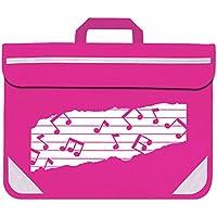 Mapac - Bolsa para partituras, color rosa