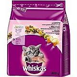 Whiskas Trocken Junior mit Lachs | 800g Katzentrockenfutter