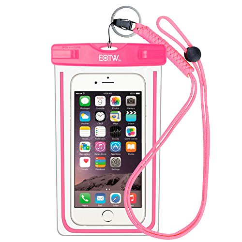 EOTW IPX8 Waterproof Case Dry Bag with Lanyard for Universal Phone up to 6 inch,Waterproof Phone Pouch iPhone 7/6/6s Plus,5s,5c,SE/Samsung Galaxy S8,S7 edge,S6 edge Plus,S5,j7,A7,A5/Huawei P8 lite,P9 lite plus,Honor 8/Sony Xperia z5,z4,z3/LG g5,g4,g3 Noki