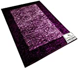 Avioni Feather Touch Reversible Carpet in Purple-3x5 Feet