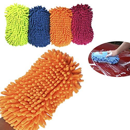 Dooppa Lot de 2/brosses de nettoyage professionnelles en microfibre pour roue de voiture