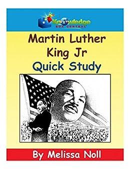 Martin Luther King Jr Quick Study (English Edition) par [Noll, Melissa]