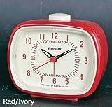 Dulton Campana Clásica Retro Reloj de Mesa Rojo/Marfil DT-S72144RD-IV