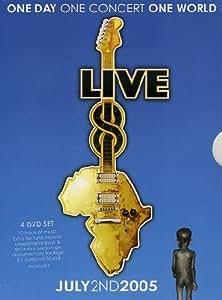 Live 8 : International (Coffret 4 DVD)