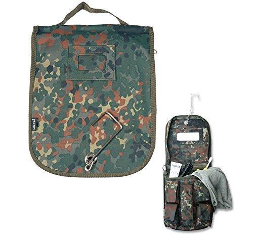 G8DS-Kulturtasche-mit-Spiegel-und-praktischem-Haken-flecktarn-gerumig-Camping