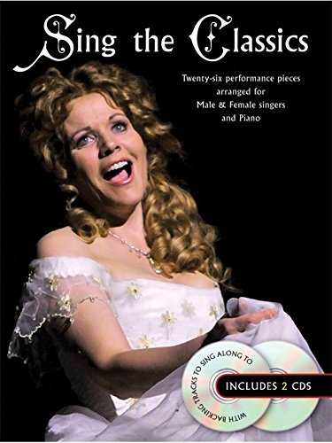 Sing The Classics. Sheet Music, CD for Voice, Piano Accompaniment