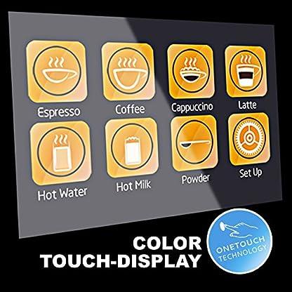 50-sparen-Garantiepaket-XL-BUSINESS–Kaffeevollautomat-EASY-TOUCH-Caf-Bonitas-Touchscreen-Dualboiler-19-Bar-Kaffeeautomat-Kaffeemaschine-Kaffee-Espresso-Latte