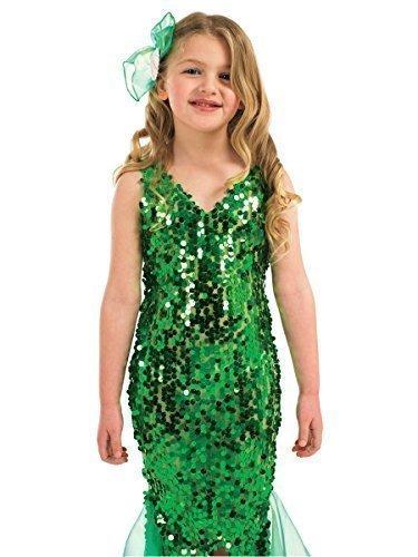 dchen-Kleine Meerjungfrau/Prinzessinnen Buch--Tage-Woche Halloween Kostüm Outfit bis 12 Jahre (Kleine Meerjungfrau Halloween-kostüm)