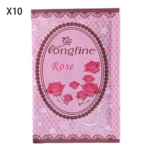 SimpleLife Produits d'entretien ménager,Sac en Papier Naturel de sachets de Vanille de Parfum de Parfum d'ambiance pour des parfums à la Maison de Voiture