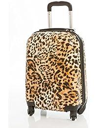 Maleta Leopardo grande 76x48x28 cm Rígida de 4 ruedas