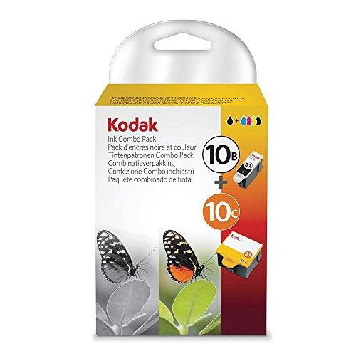 Kodak Tintenpatronen Combo Pack Schwarz & Farbe - 10 Kodak Tinte Drucker