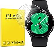 (6 Pack) Samsung Galaxy Watch 4 (44mm) Screen Protector, Sapnio Flexible TPU Film Anti-scratch Bubble Free Ant