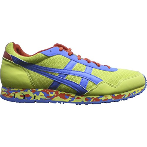 Asics Curreo, Sneakers Basses Homme Lime/Blu/Rosso