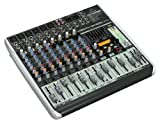 BEHRINGER XENYX QX1222USB - mixer professionale wireless ready con effetti, 16 input 4bus