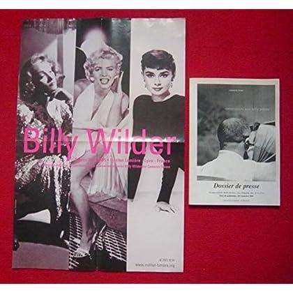 Dossier de presse + affiche de Conversations avec Billy Wilder (1995) – Document de l'Institut Lumière et Actes Sud - Broché, 21 cm x 30 cm, 44 pages
