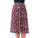 Ladies Elasticated Waist Skirt