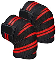 Weightlifting Knee Wraps Support Sleeves Cross Training Powerlifting squart