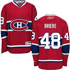 NHL Trikot/Jersey MONTREAL CANADIENS Daniel Briere #48 rot L (LARGE)