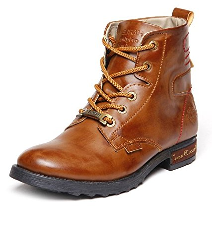 Bacca Bucci Men's Tan Pu Boots 09 Uk