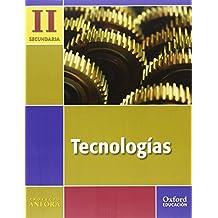 Tecnologías II ESO Ánfora. Pack (Libro del Alumno + Cuaderno de proyectos + Monografía) - 9788467336696