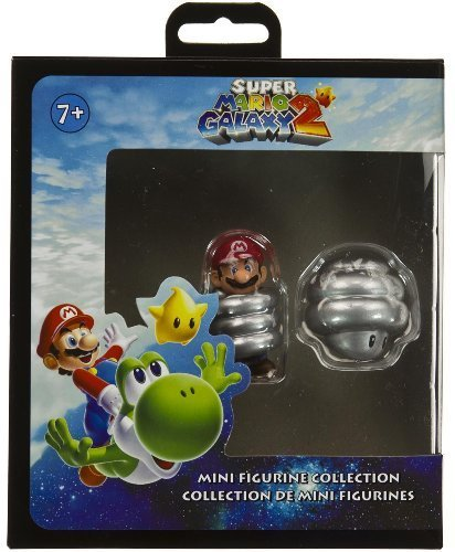 Frühling Mario & Spring Mushroom Super Mario Galaxy 2 Mini-Figurine Sammlung
