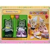Sylvanian Families 2231 - Fiesta de cumpleaños con dos figuras [Importado]