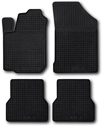 Fußmatten Gummimatten Winter Auto-matten Gummi hoher Rand 4-teilig (2004 Toyota Corolla Fußmatten)