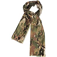 TOOGOO(R) Foulard Echarpe Cheche Cache-Col Camouflage Tactique Militaire Armee Police Moto Camouflage profonde