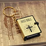 #10: Mini Delicate Holy Bible Book Keychain 40*33*13MM (yellow)