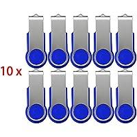 FEBNISCTE 100pcs 512MB(NON 512GB) Unità Flash USB 2.0 da 128MB