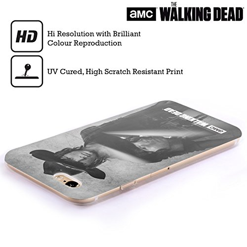 Offizielle AMC The Walking Dead Daryl Doppelte Aussetzung Soft Gel Hülle für Apple iPhone 5 / 5s / SE Carl