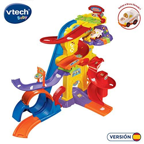 VTech- Superpista Looping 360º TutTut Bólidos Pista interactiva, Incluye el Coche de Bruno Fórmula 1, 63.2 x 40.6 x 21.1 (3480-156922)