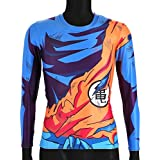 CoolChange camiseta de manga larga de Dragon Ball Super- Sayaijn, talla: L