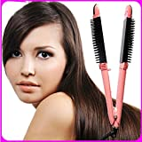 MeiZiWang Brosse Chauffante Babyliss Curling Tong Définie Curls