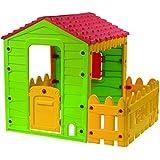 Starplast KSP70560 - Casetta da gioco con veranda, 118 x 106 x 127 cm