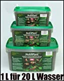 3 L NutriPlant für 60 Liter Aquarium Nährboden Humus Substrate Pflanzen Nutri Plant