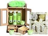 BRUBAKER Cosmetics Bade- und Pflegeset Aloe Vera & Vanilla Rose Minze 15-teilig